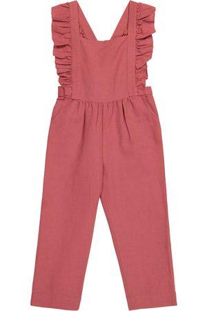 Louise Misha Amishi linen and cotton bodysuit