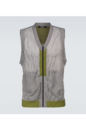 A-cold-wall* Core knitted gilet