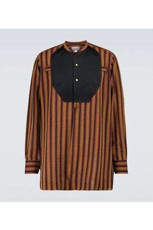 WALES BONNER Kingston plastron shirt