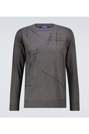 JUNYA WATANABE Embroidered linen sweater