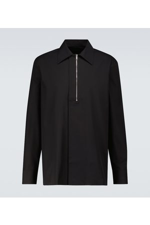 Givenchy Zipped long-sleeved shirt