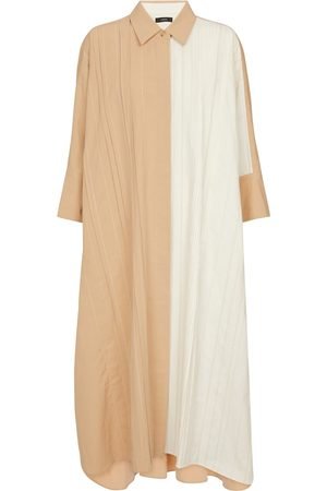 Joseph Dany cotton and linen shirt dress