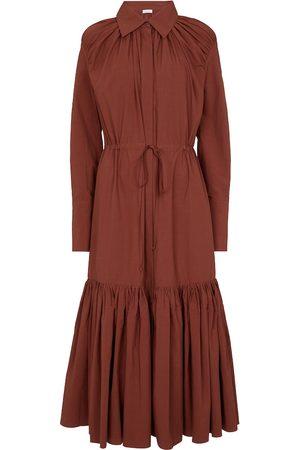 Deveaux New York Samira cotton shirt dress