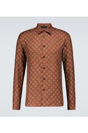 AMIRI Micro paisley long-sleeved shirt
