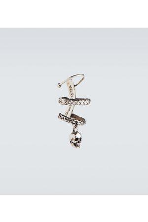 Alexander McQueen Skull and Snake earring