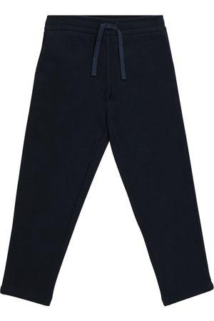 Loro Piana Horsey cotton fleece sweatpants