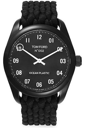Tom Ford Stainless Steel & Ocean Plastic Watch