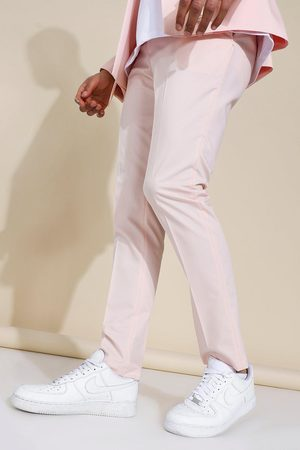 Boohoo Men Skinny Pants - Mens Skinny Pleat Front Trousers