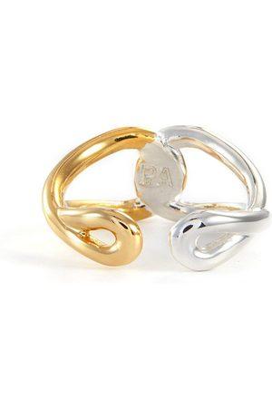 PHILIPPE AUDIBERT Luke' silver- gold-plated ring