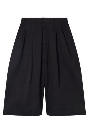 Birkenstock X Toogood Women Wide Leg Pants - The Clown Cropped Wide-leg Cotton-twill Trousers - Womens