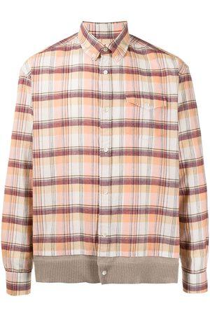 UNDERCOVER Men Business - Check-print button-down shirt
