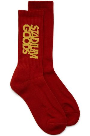 Stadium Goods Men Socks - Embroidered logo socks