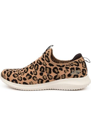 Skechers Women Casual Shoes - 13127 Ultra Flex Wild Exped Sk Leopard Sneakers Womens Shoes Casual Casual Sneakers