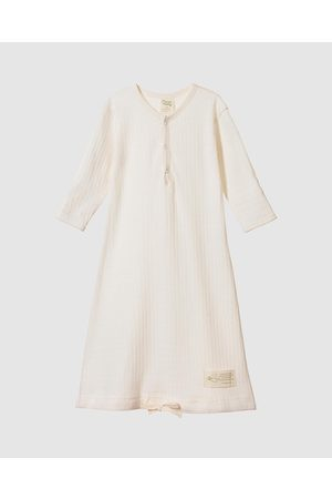 Nature Baby Pointelle Gown Babies - All onesies (Natural) Pointelle Gown - Babies