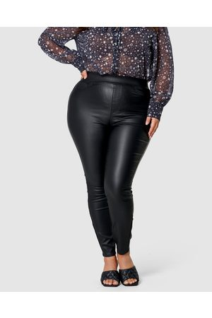 Sunday In The City Call Me Coated Jegging - High-Waisted Call Me Coated Jegging