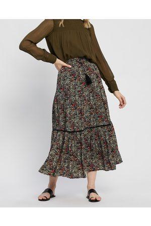 Kaja Clothing Darcy Skirt - Skirts (Multi Floral Print) Darcy Skirt