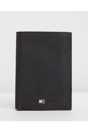 Tommy Hilfiger Johnson Nubuck Suede Wallet with Coin Pocket - Wallets Johnson Nubuck Suede Wallet with Coin Pocket