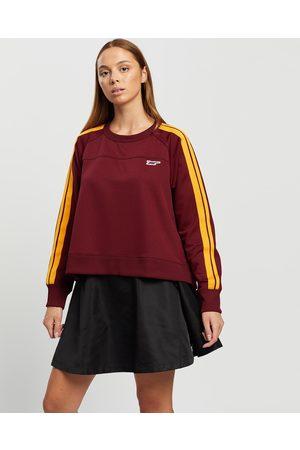 Onitsuka Tiger Top Women's - T-Shirts & Singlets (Burgundy) Top - Women's