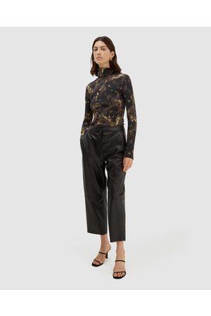 SABA Viv Vegan Leather Pants - Pants Viv Vegan Leather Pants