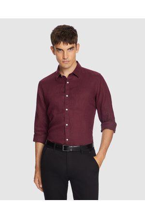 Yd. Men Long sleeves - West Hampton Shirt - Shirts & Polos (BERRY) West Hampton Shirt