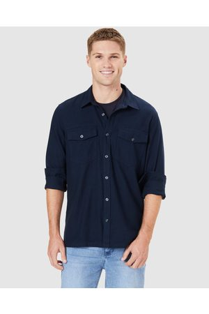 French Connection Utility Regular Fit Shirt - Casual shirts (MARINE ) Utility Regular Fit Shirt