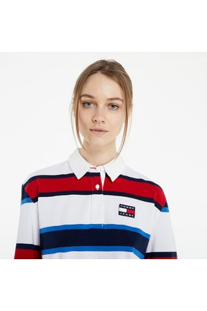 Tommy Hilfiger Striped Rugby Polo Long Sleeve TEE