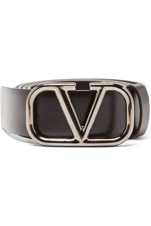 Valentino Garavani Men Belts - V-logo Leather Belt - Mens