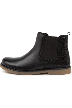Clarks Girls Ankle Boots - Chelsea Jnr Ck Sparkle Boots Girls Shoes Casual Ankle Boots