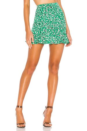 superdown Kelly Ruffle Mini Skirt in .
