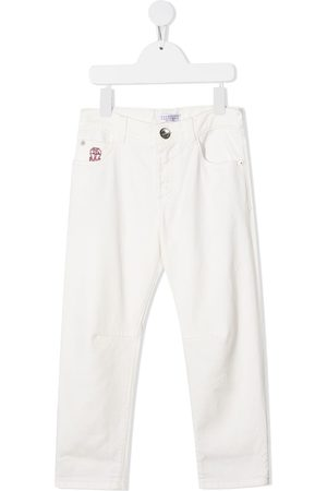 Brunello Cucinelli Boys Straight - Straight leg jeans