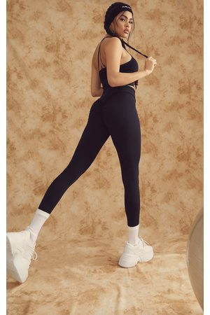 PRETTYLITTLETHING Sculpt Luxe Ruched Bum Gym Leggings
