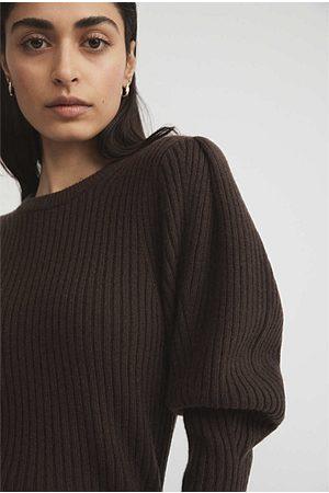 WITCHERY Women Sweaters - Puff Sleeve Knit