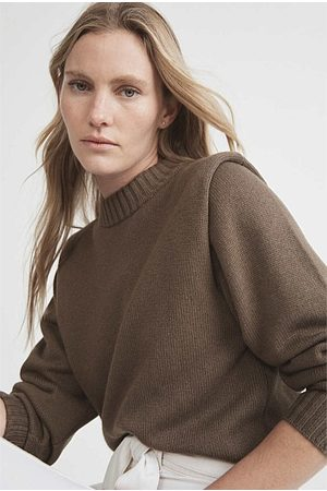 WITCHERY Structured Shoulder Knit