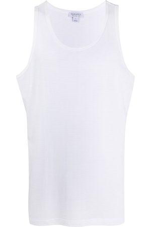 Sunspel Scoop neck sleeveless top