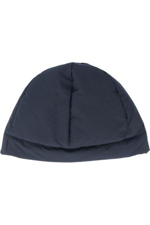 Jil Sander Women Beanies - Six-panel construction padded beanie