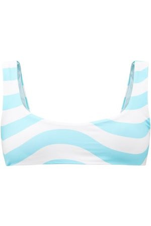 Solid & Striped The Elle Reversible Recycled-fibre Bikini Top - Womens