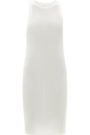Solid Women Summer Dresses - The Carson Technical Mesh Mini Sundress - Womens