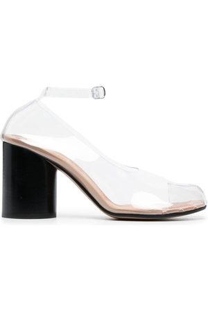 Maison Margiela Women Heels - Tabi 85mm transparent pumps