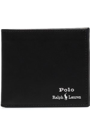 Polo Ralph Lauren Logo-embroidered bifold wallet