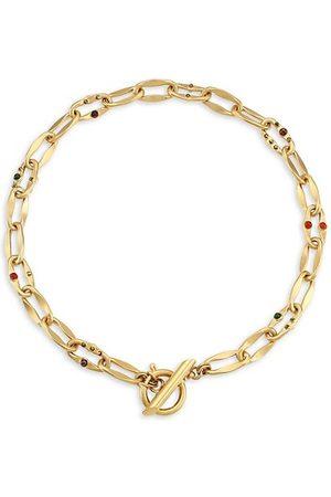 Gas Bijoux Necklaces - Gabriel Multi-Stone Chain Necklace
