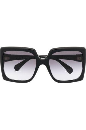 Gucci Interlocking G oversized square-frame sunglasses