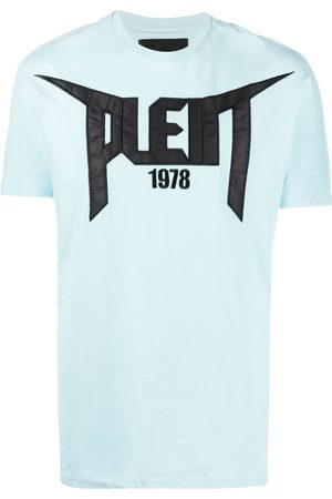 Philipp Plein Men Short Sleeve - 1978 logo patch T-shirt