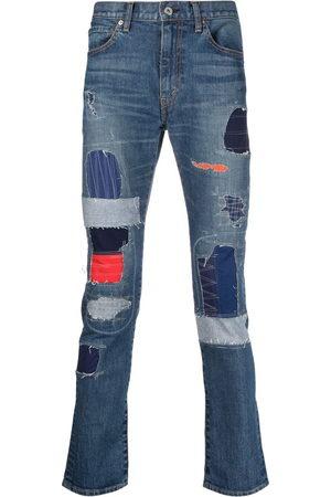 JUNYA WATANABE Men Slim - Patchwork slim-fit jeans