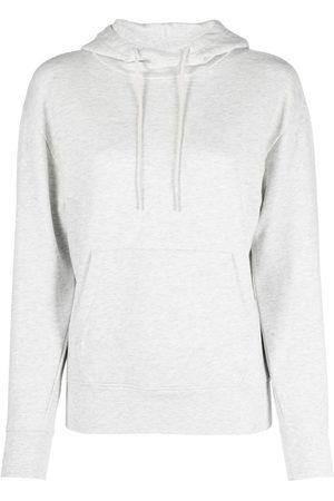 Vince Women Hoodies - Drawstring cotton hoodie