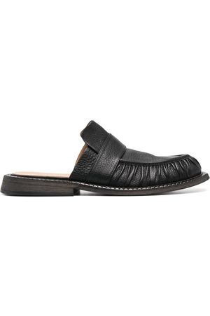 MARSÈLL Men Loafers - Alluce slip-on leather loafers