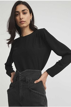 WITCHERY Strong Shoulder Blouse