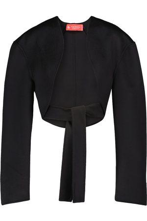 Peter Do Wool bolero jacket