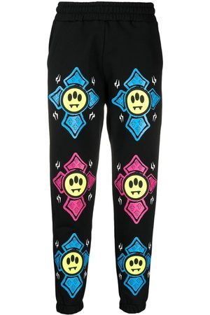 BARROW Joggers - Graphic-print mid-rise track pants