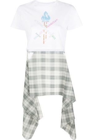 Opening Ceremony Cropped logo-print T-shirt