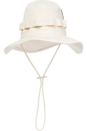 Jil Sander Cotton herringbone bucket hat